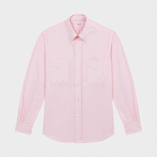 Chemise Oxford 2 poches : Rose