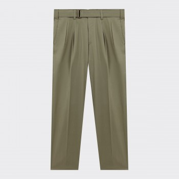 Belted Military Chino : Olive