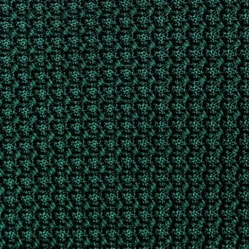 Grenadine Tie: Dark Green