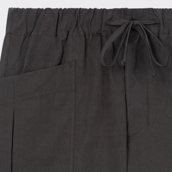 Short Cargo Coton & Lin : Anthracite