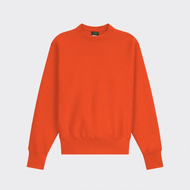 Crewneck Sweatshirt : Orange