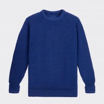 Crewneck Sweater : Blue